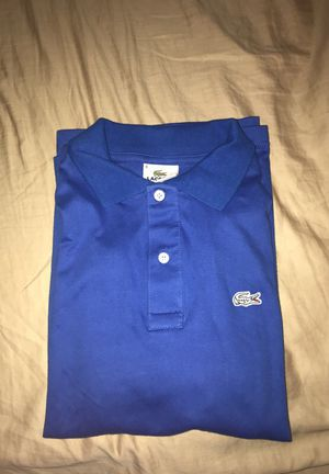Brand new Lacoste blue polo size large for Sale in Fairfax Station, VA