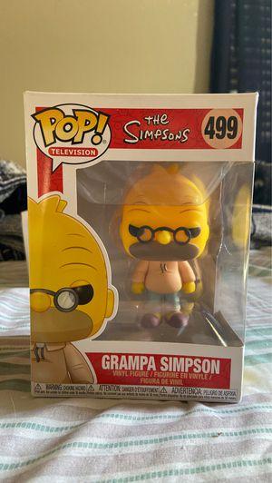 Grandpa Simpson Funko POP for Sale in Ontario, CA