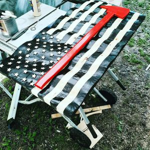 Wooden waving flags for Sale in Jersey Shore, PA