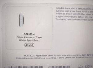 Apple Watch series 4 Silver Aluminum Case for Sale in Jupiter, FL