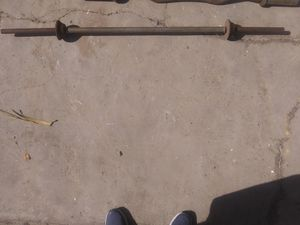 Heavy duty well made Bench press bar Olympic weights for Sale in Los Angeles, CA