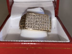 10k real gold ring real diamonds for Sale in Arden-Arcade, CA