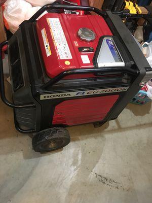 Honda eu7000is generator inverter for Sale in Gresham, OR