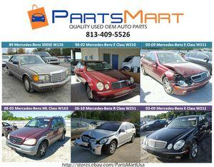Mercedes-Benz E320 E430 E500 ML320 R350 OEM USED PARTS for Sale for Sale in Tampa, FL