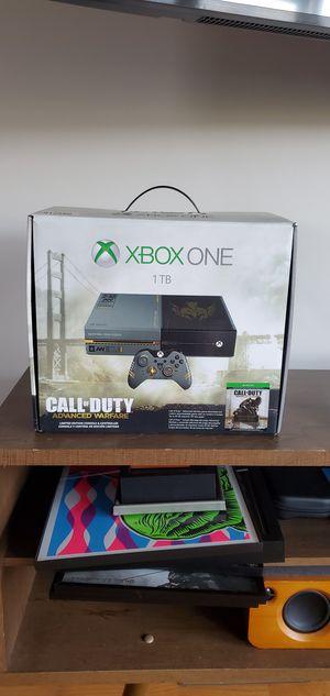 XBox ONE Advance Warfare Limited Edition Console 1Tb for Sale in Chicago, IL