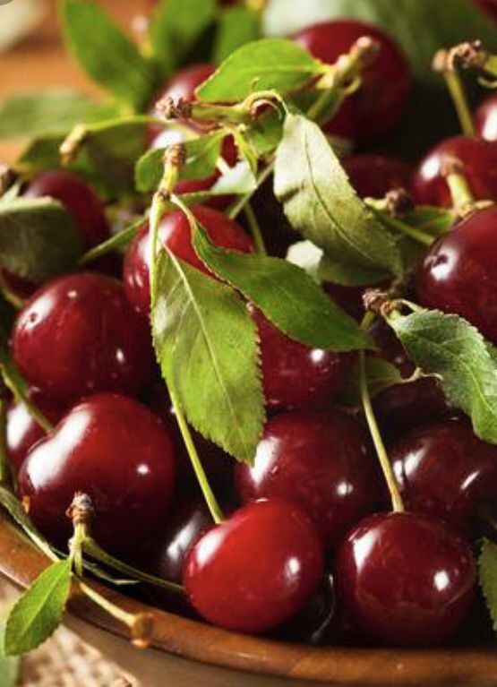 Fresh Organic Sour Cherry