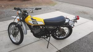 Vintage 1975 Yamaha enduro DT400 motorcycle for Sale in Vancouver, WA