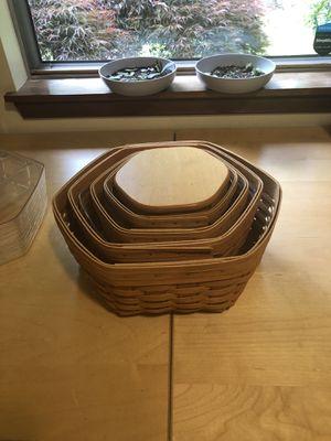 Longaberger Generation baskets for Sale in Auburn, WA