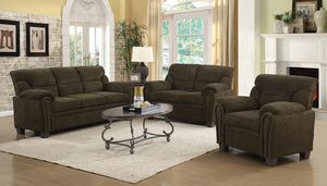 2PC LIVINGROOM SET: SOFA AND LOVE SEAT SOFA ADD for Sale in Antioch, CA