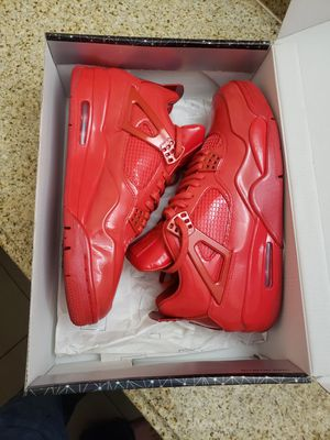 Nike jordan 4 11lab4 'red patent leather' sz 10.5 for Sale in Princeton, TX