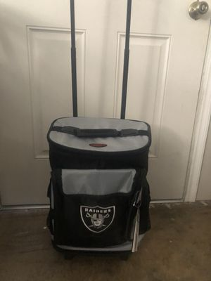New with tag raiders rolling cooler backpack for Sale in San Bernardino, CA