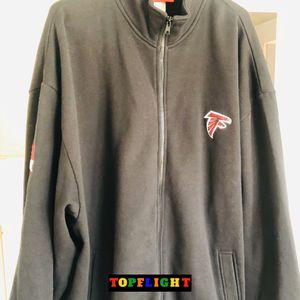Atlanta Falcons NFLPA Michael Vick #7 Fleece Full-Zip Pullover Jacket Size 2XL for Sale in Washington, DC