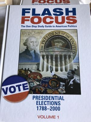 Broiler Scholastic Books New - Flash Focus The OneStop Study Guide to American Politics for Sale in Ijamsville, MD