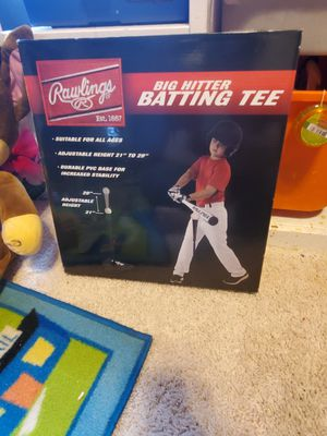 Batting tee rawlings for Sale in Katy, TX