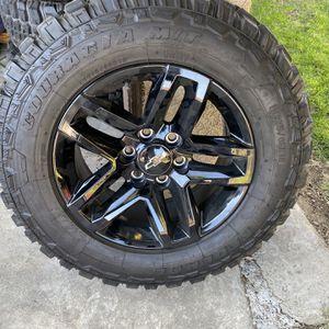 Chevy 18 Black Wheels for Sale in Kerman, CA