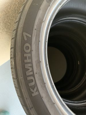 Kumho 7 tires set of 4 235/45/R18 for Sale in Wesley Chapel, FL