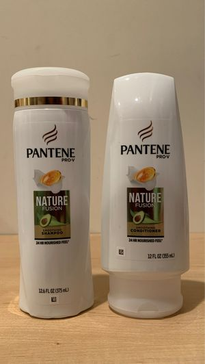 Pantene Nature Fusion smoothing shampoo & conditioner: both for $4 for Sale in Alexandria, VA
