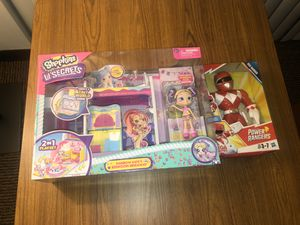 Kids toys - lil shopkins - power rangers for Sale in Riverside, CA