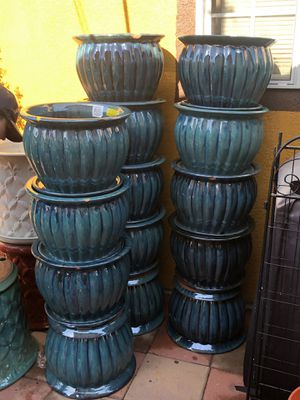 Plant pots FATHERS DAY SPECIAL for Sale in Ontario, CA