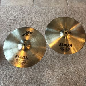 """Sabian XS 14"""" Hi Hat Cymbals for Sale in Middletown, CT"""