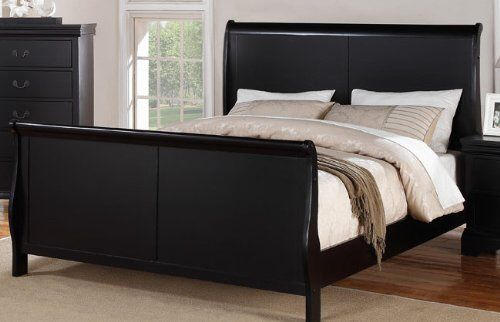 Brand new king size wooden sleigh bed frame