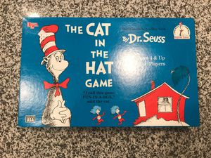 Cat and the Hat Board Game for Sale in Virginia Beach, VA