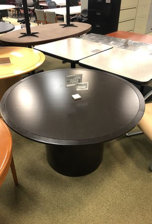 """Sierra Series 48"""" Round table with round base San Diego new and used office furniture for Sale in San Diego, CA"""