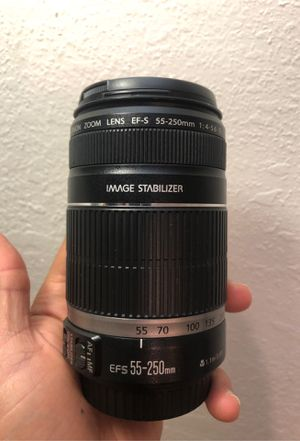 Canon 25-250 mm lense for Sale in San Diego, CA
