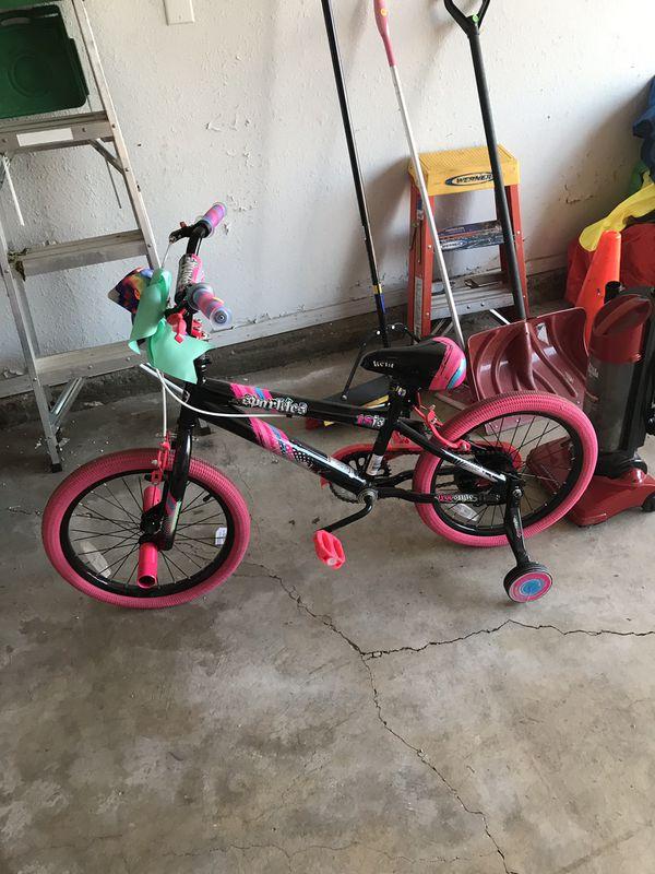 Kids toys and bike