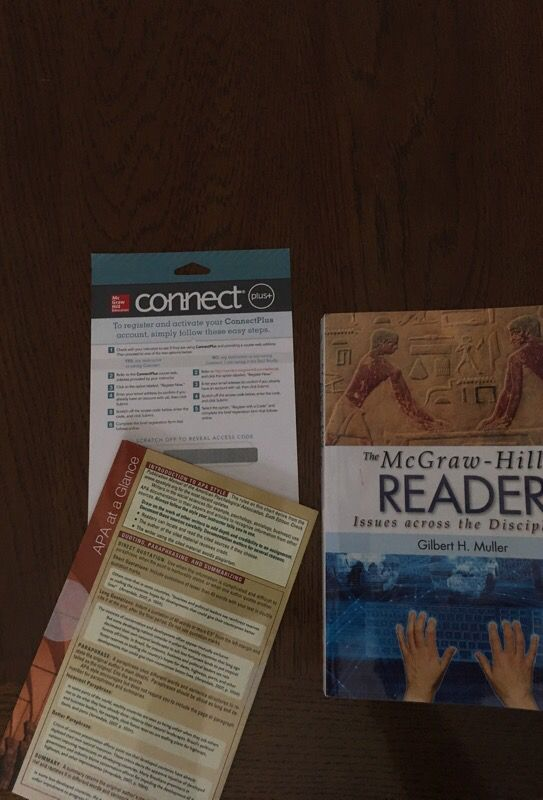 McGraw-Hill Reader Issues across the disciplines for Sale in Oviedo, FL -  OfferUp