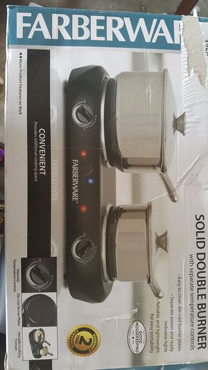 Solid double burner for Sale in Surgoinsville, TN