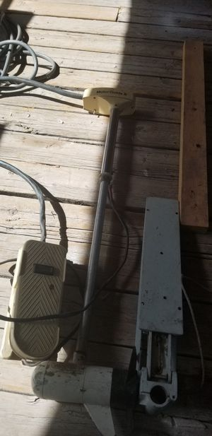 Boat trolley motor &foot pedal for Sale for sale  Avondale, AZ