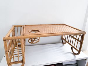 Bamboo breakfast bed tray for Sale in Red Bluff, CA