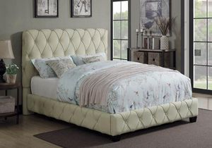 (JUST $54 DOWN) Brand New Tufted Queen Bed (Financing and Delivery available) for Sale in Carrollton, TX