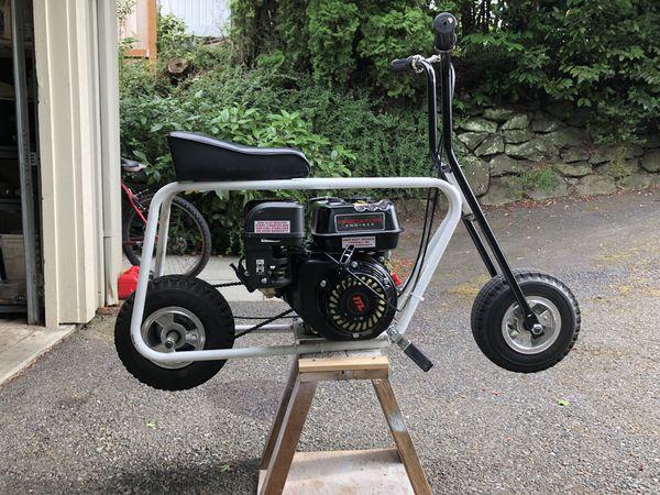 212cc predator mini bike azuma parts frame  Top speed 35mph for Sale in  Seattle, WA - OfferUp
