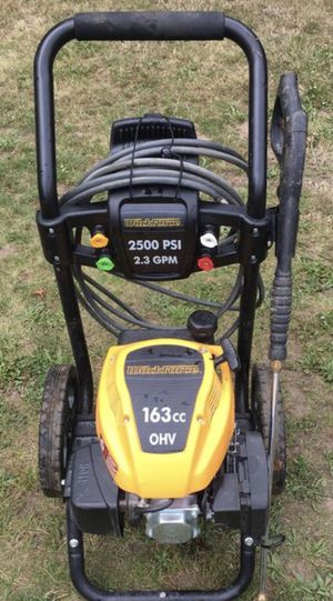 Workforce pressure washer 2500 psi 2.3 gpm starts right up runs grea for Sale in Reynoldsburg, OH