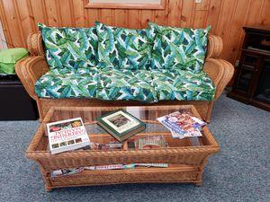 Wicker furniture set for Sale in Fort Wayne, IN