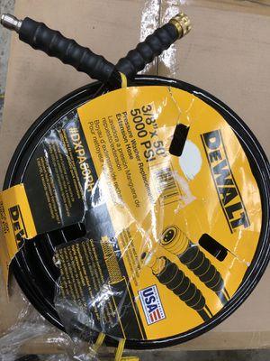 DeWALT pressure washer hose/extension for Sale in Parma, OH