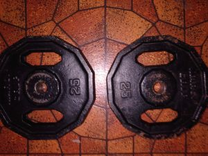 Marcy Grip 25 LB weights for Sale in Mesquite, TX
