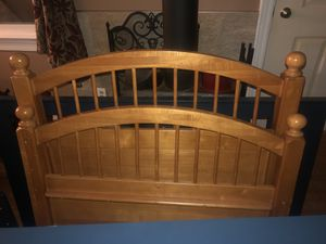 Twin bed 🛌 just frame for Sale in Wheeling, IL
