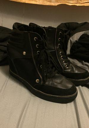 women's black aldo boots for Sale in Northbridge, MA
