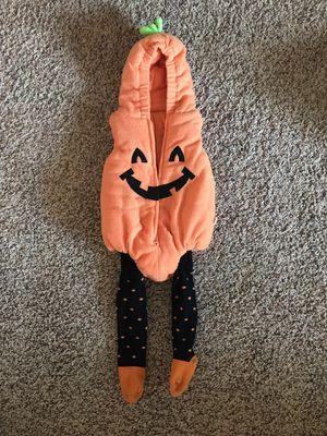 baby halloween pumpkin costume for Sale in Hesston, KS