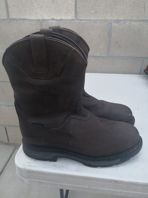 Ariat carbón toe work boots size 10.5 D for Sale in Riverside, CA