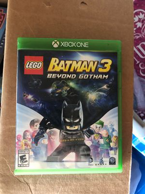 LEGO Batman 3 Xbox one for Sale in Glendale Heights, IL