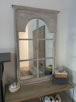 Window pane mirror for Sale in Hermosa Beach,  CA