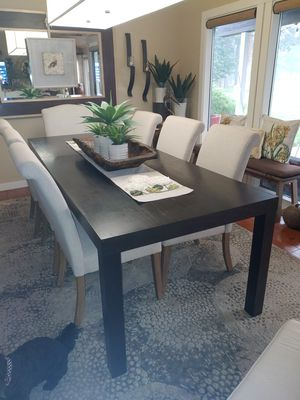Dining table with 6 chairs for Sale in Bend, OR