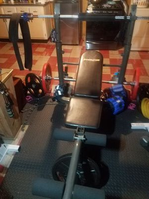 OLYMPIC BENCH POWERHOUSE for Sale in Chicago, IL