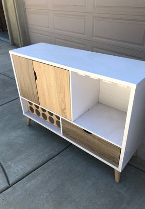 Bar Beautiful wine storage cabinet for Sale in Corona, CA
