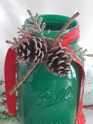Christmas Mason jar for Sale in Jackson Township, NJ