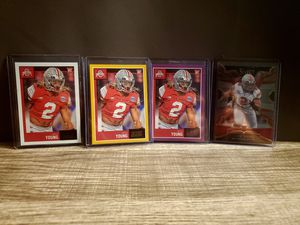 Chase Young Rookies Parallel and select Buckeys/Washington Redskins 📈📈🔥🔥🔥🔥🔥 for Sale in San Antonio, TX